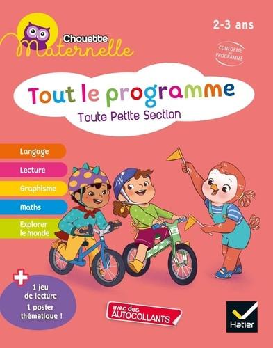 Couverture de Chouette Maternelle : Tout le programme, TPS