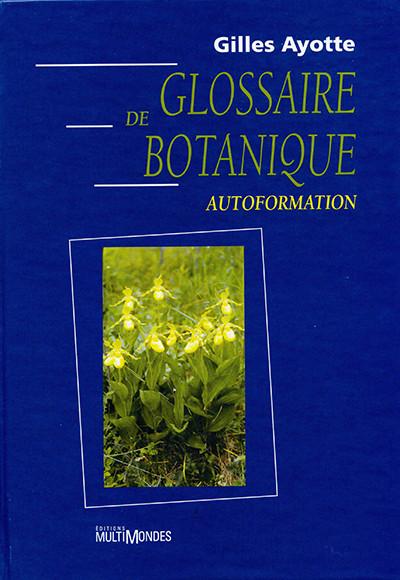Couverture de Glossaire de botanique