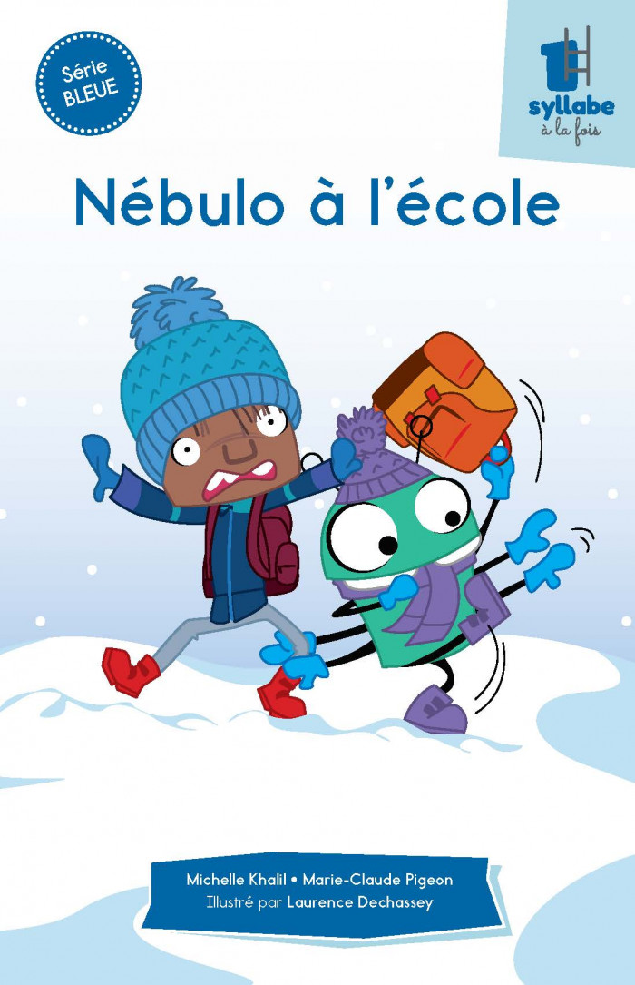 Couverture de Nébulo à l'école - Série bleue