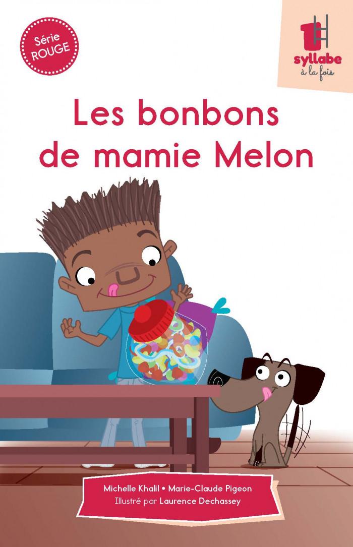 Couverture de Les bonbons de mamie Melon - Série rouge