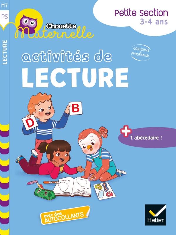 Couverture de Chouette Maternelle : Activités de lecture, PS