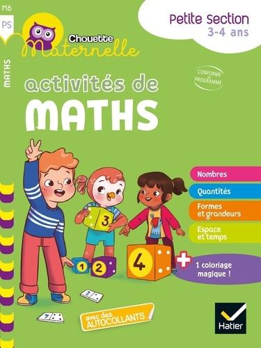 Couverture de Chouette Maternelle : Activités de maths, PS