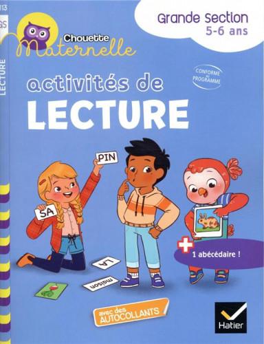 Couverture de Chouette Maternelle : Activités de lecture, GS