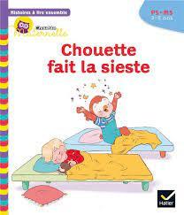 Couverture de Chouette fait la sieste, PS-MS