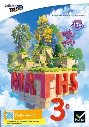 Couverture de Tam - Mathématiques : livre élève, 3e