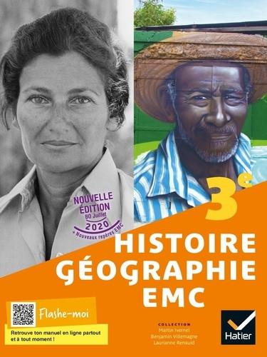Couverture de Histoire-Géographie EMC - Manuel de l'élève, 3e