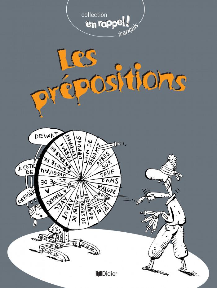 Couverture de Les prépositions