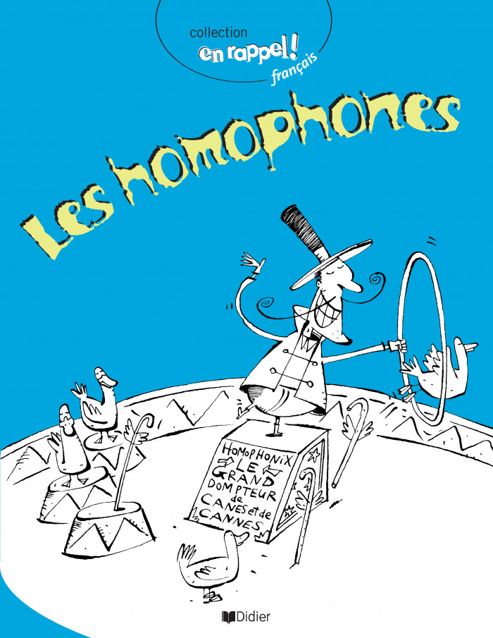 Couverture de Les homophones