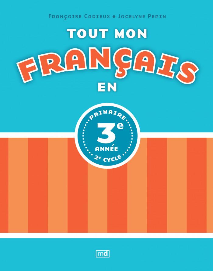 Couverture de Tout mon français en 3e année