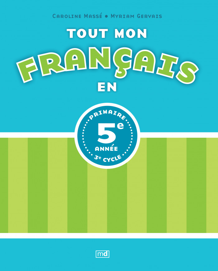 Couverture de Tout mon français en 5e année