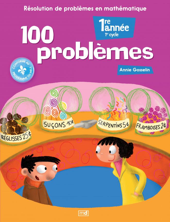Couverture de 100 problèmes, 1re année