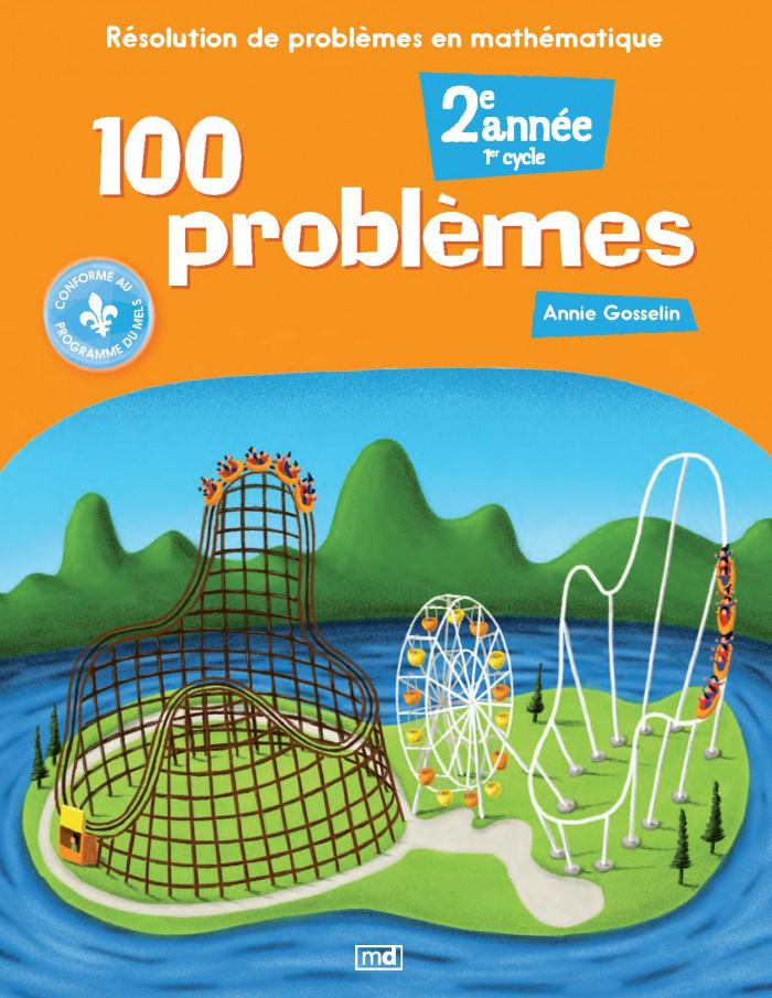 Couverture de 100 problèmes, 2e année