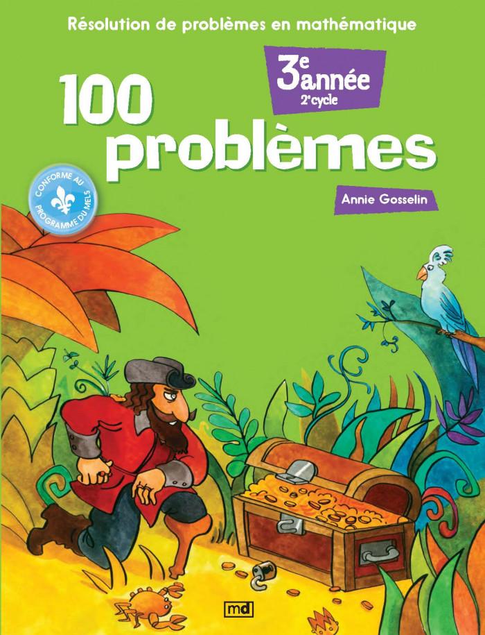 Couverture de 100 problèmes, 3e année