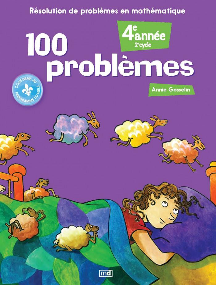 Couverture de 100 problèmes, 4e année