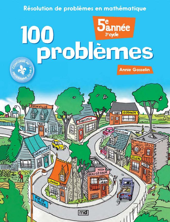 Couverture de 100 problèmes, 5e année