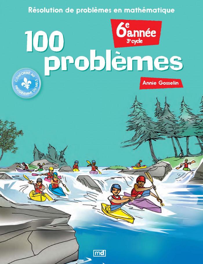 Couverture de 100 problèmes, 6e année