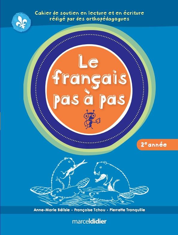 Couverture de Le français pas à pas, 2e année