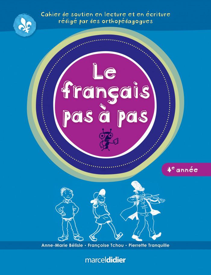 Couverture de Le français pas à pas, 4e année