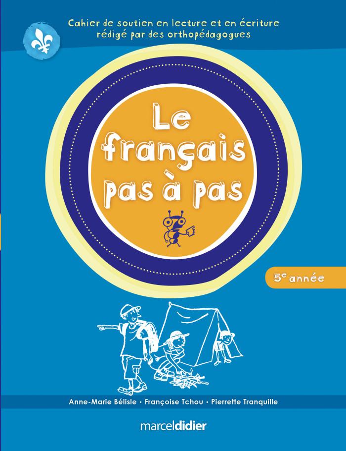 Couverture de Le français pas à pas, 5e année