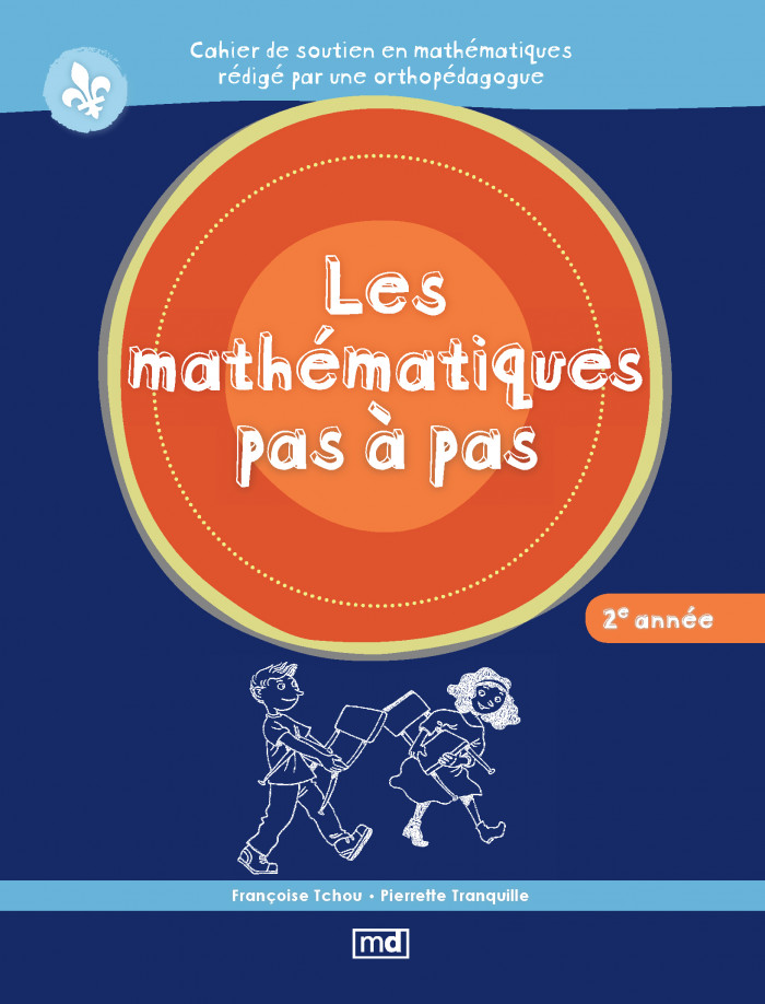 Couverture de Les mathématiques pas à pas, 2e année