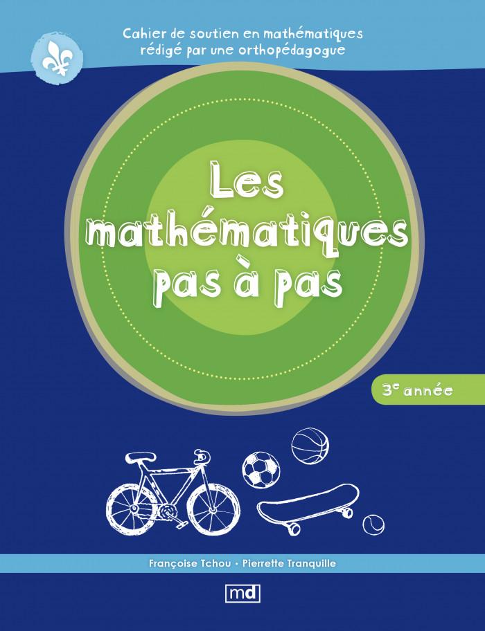 Couverture de Les mathématiques pas à pas, 3e année