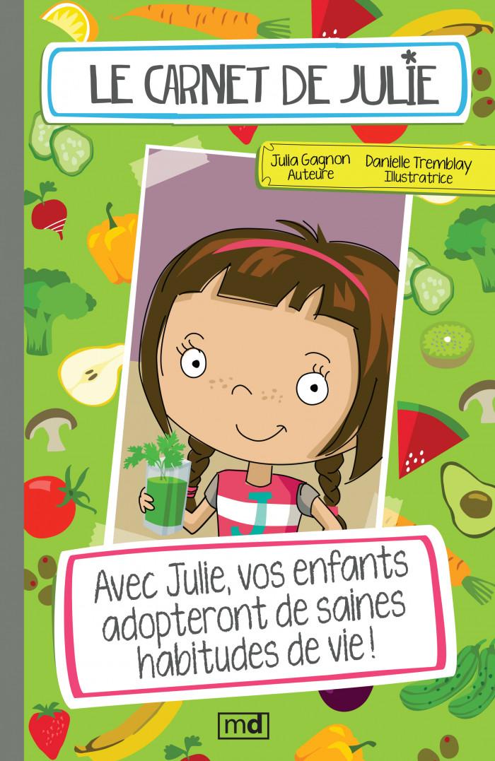 Couverture de Le carnet de Julie - Coffret 1