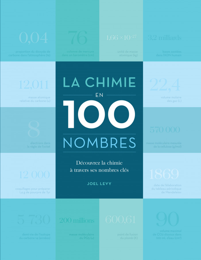 Couverture de La chimie en 100 nombres