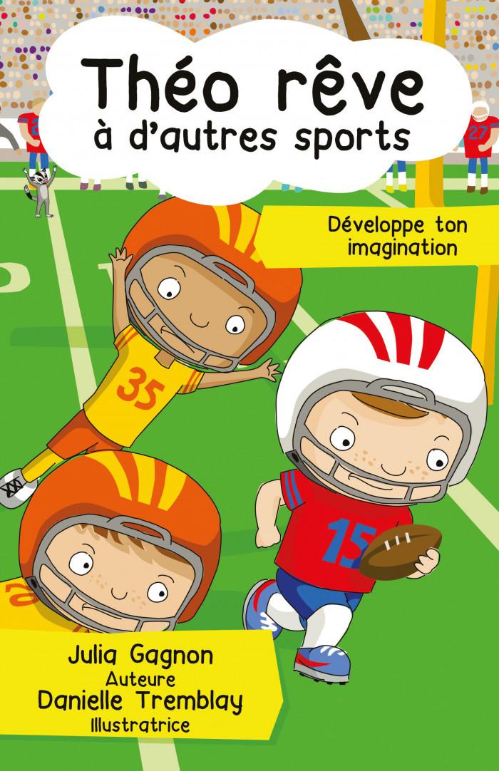 Couverture de Théo rêve à d'autres sports